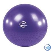 """Мяч гимнастический+массажный 75 см """"Lite Weights""""  BB010-30+насос"""