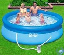 Надувной бассейн Intex 28142 с фильтр-насосом (366х91см)