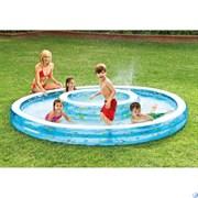 Надувной бассейн двойной Intex 57143 (279х36 см)