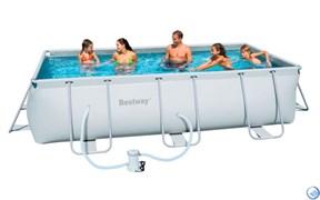 Каркасный бассейн Bestway 56251+фильр-насос 220в (404х201х100см)
