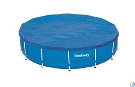 Покрывало для бассейна каркасного круглого  457 см Bestway