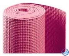 Коврик для йоги и фитнеса 173*61*0,4см BB8300 с принтом, розовый