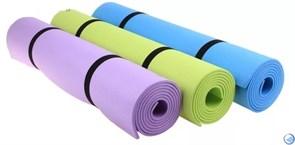 Коврик для йоги и фитнеса 173*61*0,4см BB8310, голубой