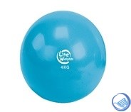 Медбол 4кг 1704LW, голубой