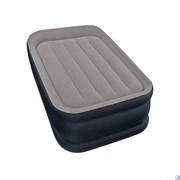 Надувная кровать односпальная с насосом Intex 64132 (99х191х42)