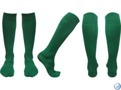 Гетры футбольные зеленые р. 36-45