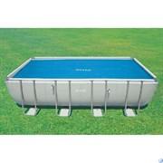 Тент солнечный прозрачный для прямоугольного бассейна 488х244см Intex 29029