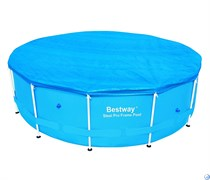 Тент для бассейна каркасного круглого 244 см Bestway 58301