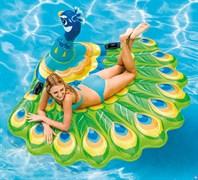 Надувной матрас-игрушка «Павлин» Intex 57250