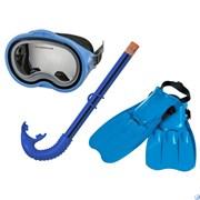 Набор маска, трубка, ласты  Master Class,от 8 лет Intex 55955