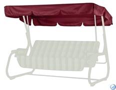 Тент-крыша для садовых качелей (с прямой крышей)