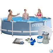 Каркасный бассейн Intex 28702+ фильтр-насос (305х76см)
