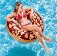 """Надувной круг """"Шоколадный пончик"""" Intex 56262 (114см)"""