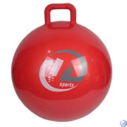 Мяч-попрыгун GB65 с ручкой (65см, красный)