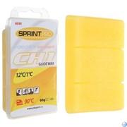 Мази скольжения SPRINT PRO. CH1 Yellow (+12 +1°C). 60г