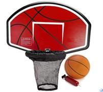 Баскетбольный щит для батута + мяч, насос
