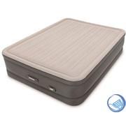 Кровать надувная двуспальная с насосом Intex 64770 (152х203х46)