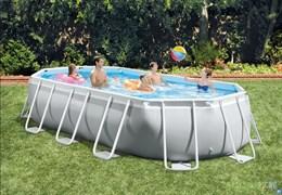 Овальный каркасный бассейн Intex 26798