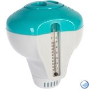 Плавающий дозатор с термометром для химии в таблетках Intex 29043