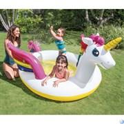 Детский бассейн Волшебный Единорог Intex 57441 (272x193x104)