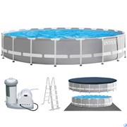 Круглый каркасный бассейн Intex 26756