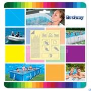 Ремкомплект для бассейнов Bestway 62091  (самоклейки водостойкие)