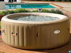 Надувной бассейн джакузи Intex 28408 (216 х 71 см)