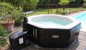 Надувной бассейн джакузи Intex 28456 P