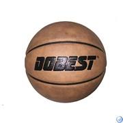 Мяч баск. DOBEST PK300 р.7 синт. кожа, коричн.