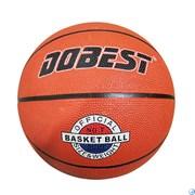 Мяч баск. DOBEST RB7-0886 р.7 резина, оранж.