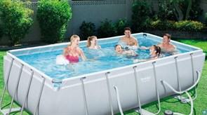 Каркасный бассейн Bestway 56251 +фильр-насос 220в (404х201х100см)