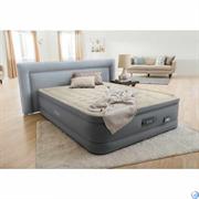Надувная кровать Intex 64926 двуспальная со встр. насосом  (152х203х46)