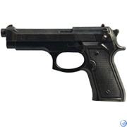Пистолет тренировочный черный МАКЕТ