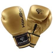 Перчатки боксерские KouGar KO600, золото