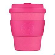 Кофейный эко-стакан 250 мл Розовый