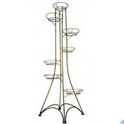Подставка Напольная Березка на 7 горшков(витая) М0000035