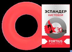 Эспандер-кольцо Fortius 30 кг красный