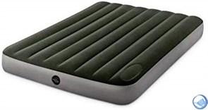Надувной матрас Intex 64762 (137х191х25)  встр. ножной насос