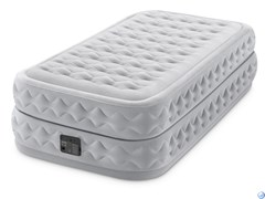 Надувная кровать Intex 64488 (99х191х51) см, эл. насос