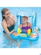Надувные водные ходунки Baby Float  Intex 56581 (81х66см)