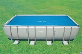 Тент солнечный прозрачный для прямоугольного бассейна 549х274см Intex 59957