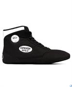 Обувь для борьбы Green Hill GWB-3052/GWB-3055, черная/белая