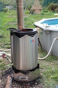 Проточный водонагреватель для бассейна Termopool Volcano Pro 50
