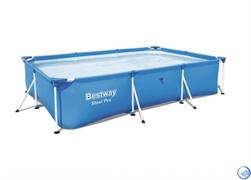 Прямоугольный каркасный бассейн Bestway 56404 (300х201х66)
