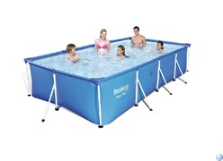 Прямоугольный каркасный бассейн Bestway 56405 (400х211х81)