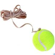 Мяч теннисный на резинке B32196