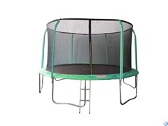 Батут 16FT 4,88м SportElite 4,88м фиберглас с защитной сеткой внутрь и лестницей GB102011-16FT