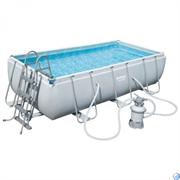 Каркасный бассейн Bestway 56442 +пес фильтр-насос 220в (404х201х100см)
