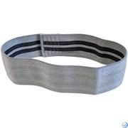Эспандер лента для пилатеса растяжки размер M (серый)  E29301