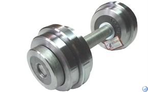 Гантель разборная с галтованными дисками 9кг (металл)